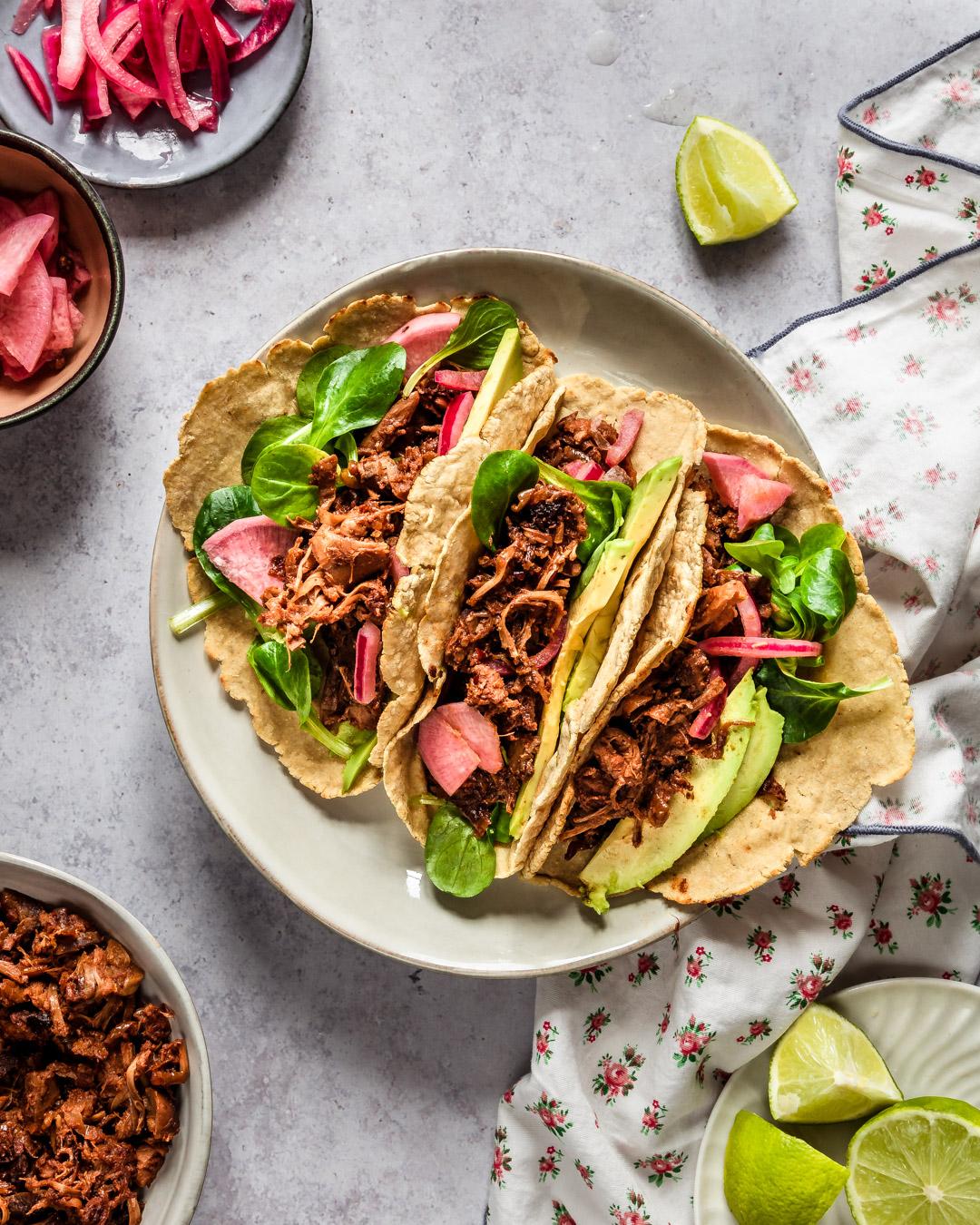 Tacos vegan jacquier