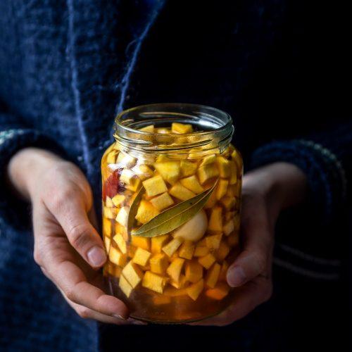pickles de courge automne