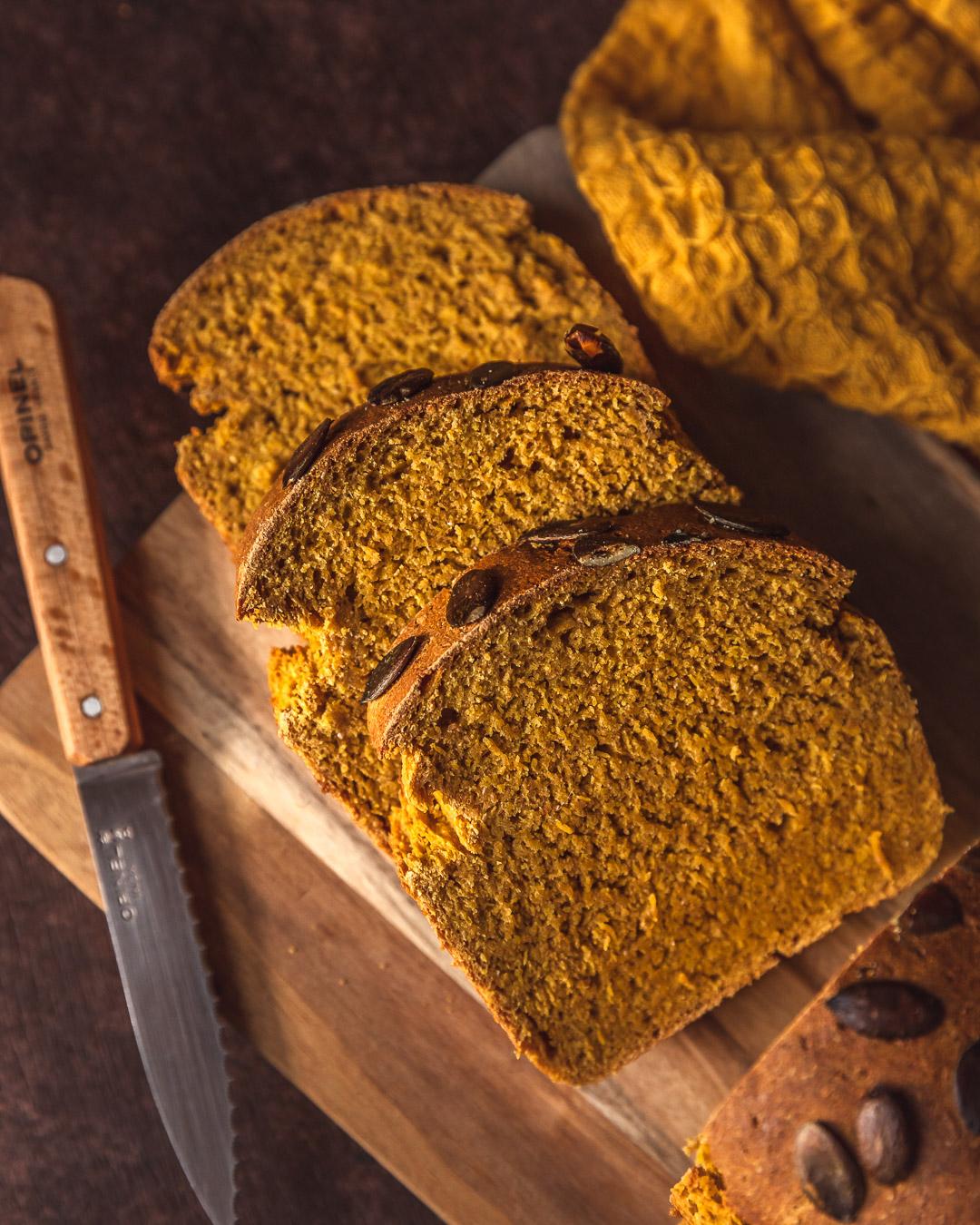 pain au potimarron