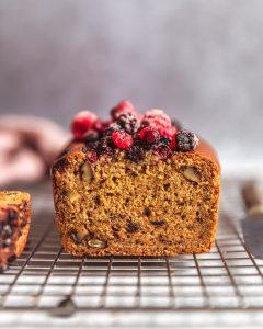 cake café noix sans gluten vegan