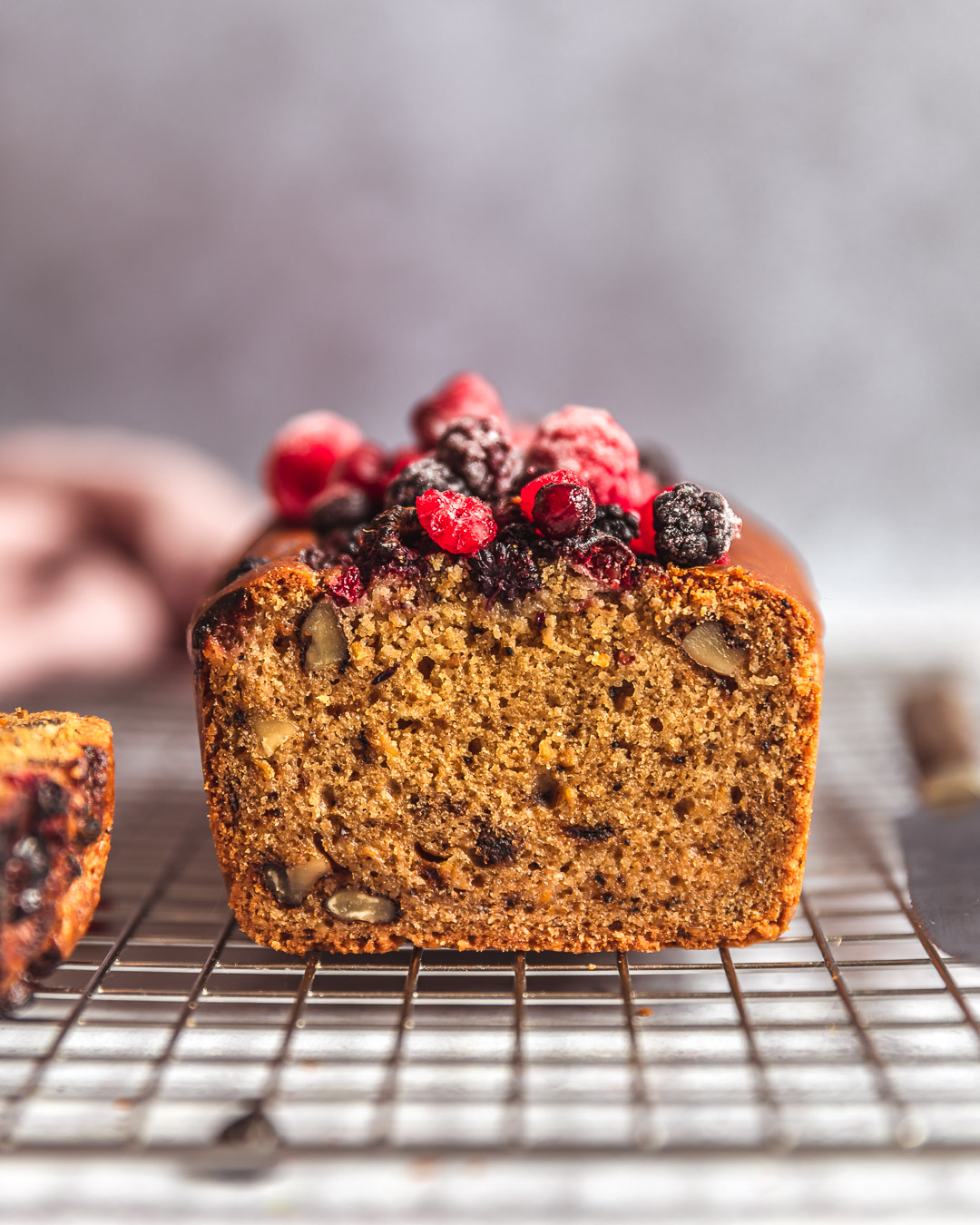 Cake Café & Noix (sans gluten-vegan)