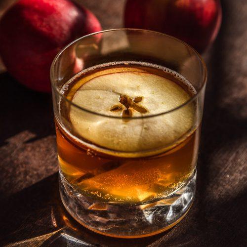 Cocktail cidre amaretto