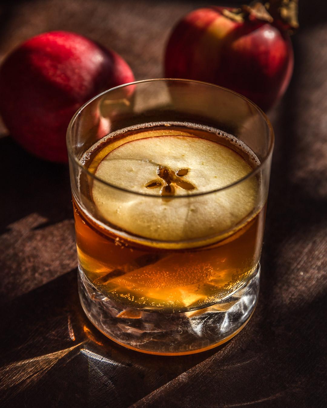 Cocktail Cidre – Amaretto