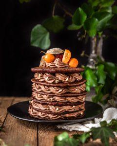 pancakes chocolat noisette