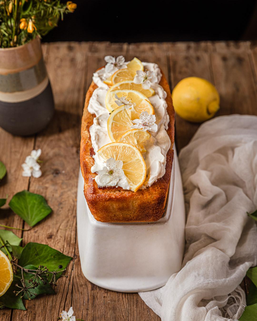 Cake au citron (sans gluten – sans margarine)