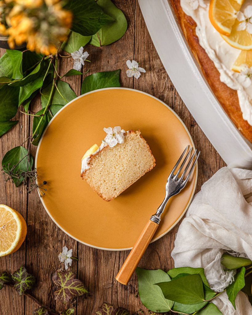 cake citron vegan