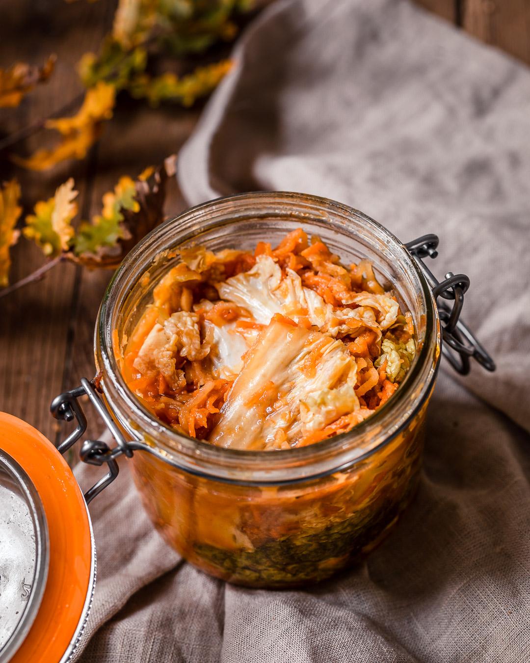 Kimchi au gingembre