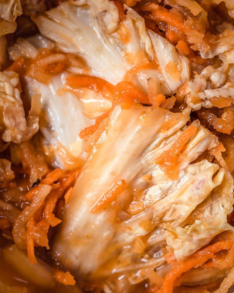 kimchi gingembre vegan