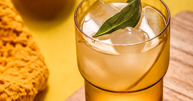 Citronnade Ananas-Sauge