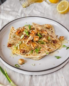 spring onion flatbread