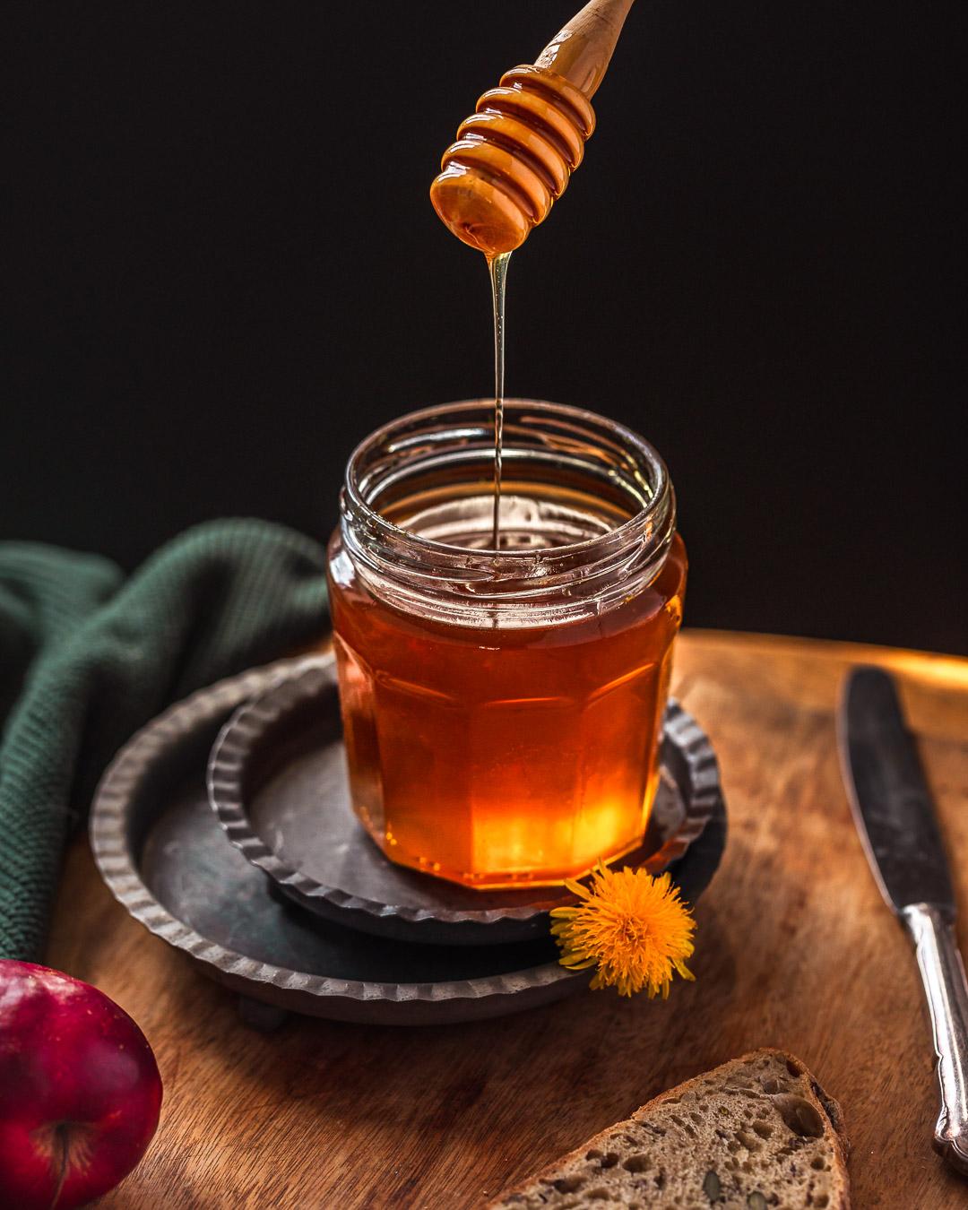 Miel de pissenlit (cramaillotte)