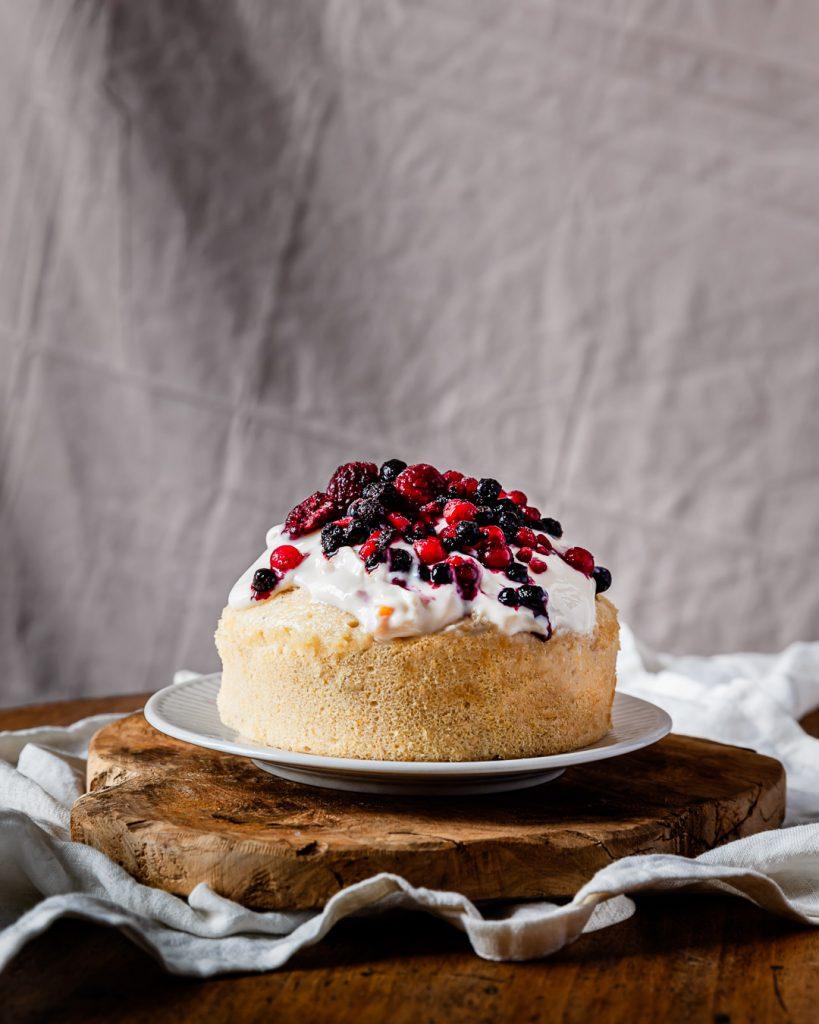 Gâteau au yaourt vapeur sans gluten vegan