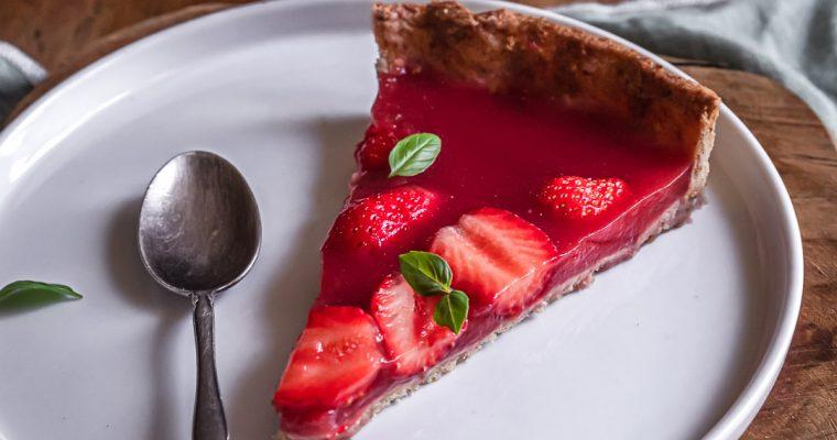 Tarte «Jelly» aux fraises