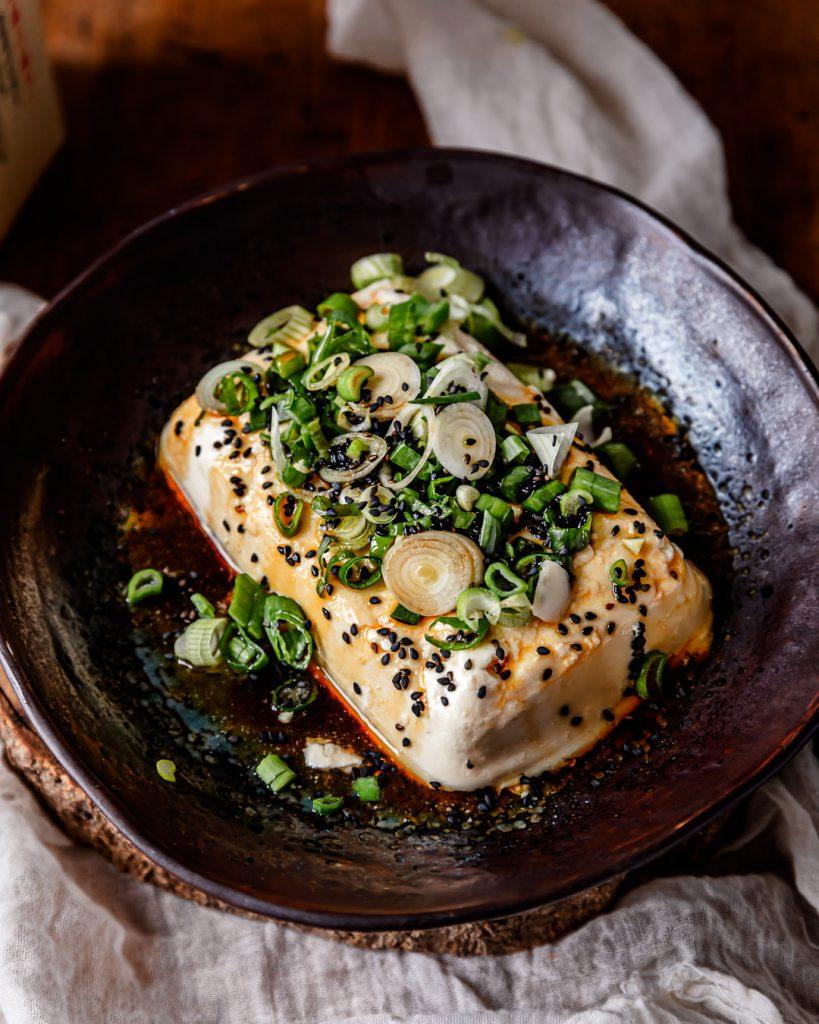 tofu soyeux frais japonais