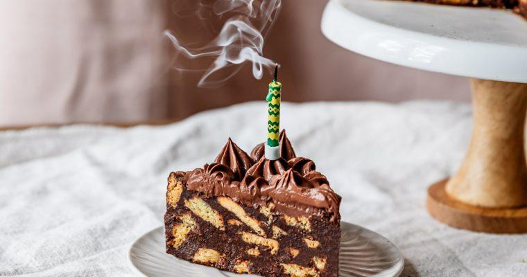 Chococisson vegan d'anniversaire