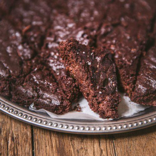Gâteau choco courgette (vegan & sans gluten)