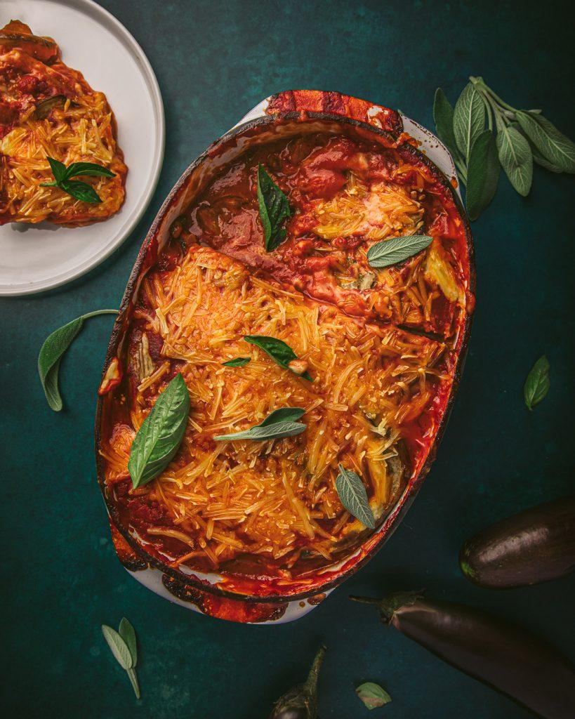 Parmigiana d'aubergine vegan - recette