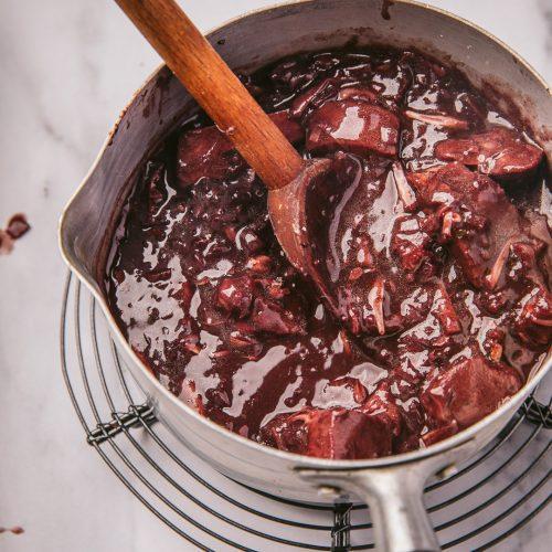 Sauce Échalote & Vin rouge vegan - greenquest
