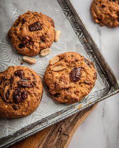 Cookies chocolat cacahuète