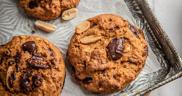 Cookies chocolat – cacahuète