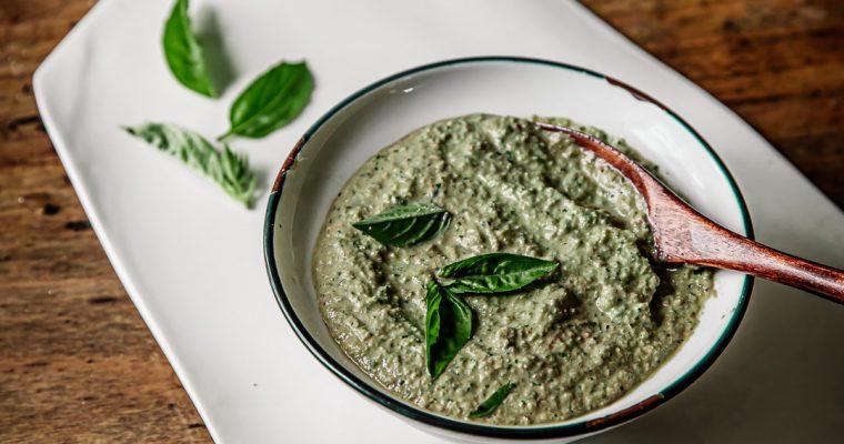 Pesto de courgette