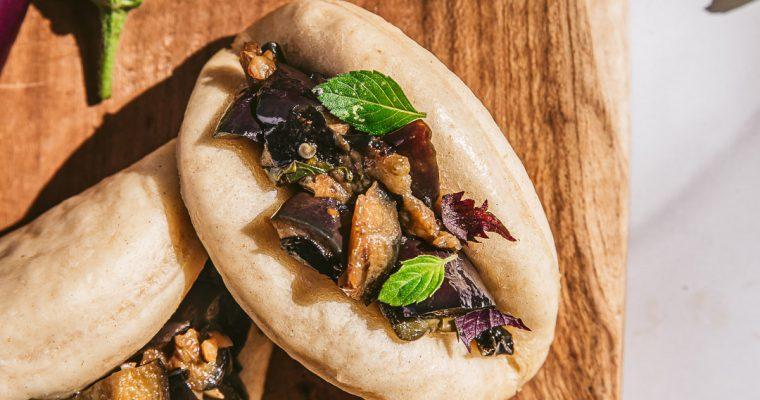 Gua Bao aux aubergines