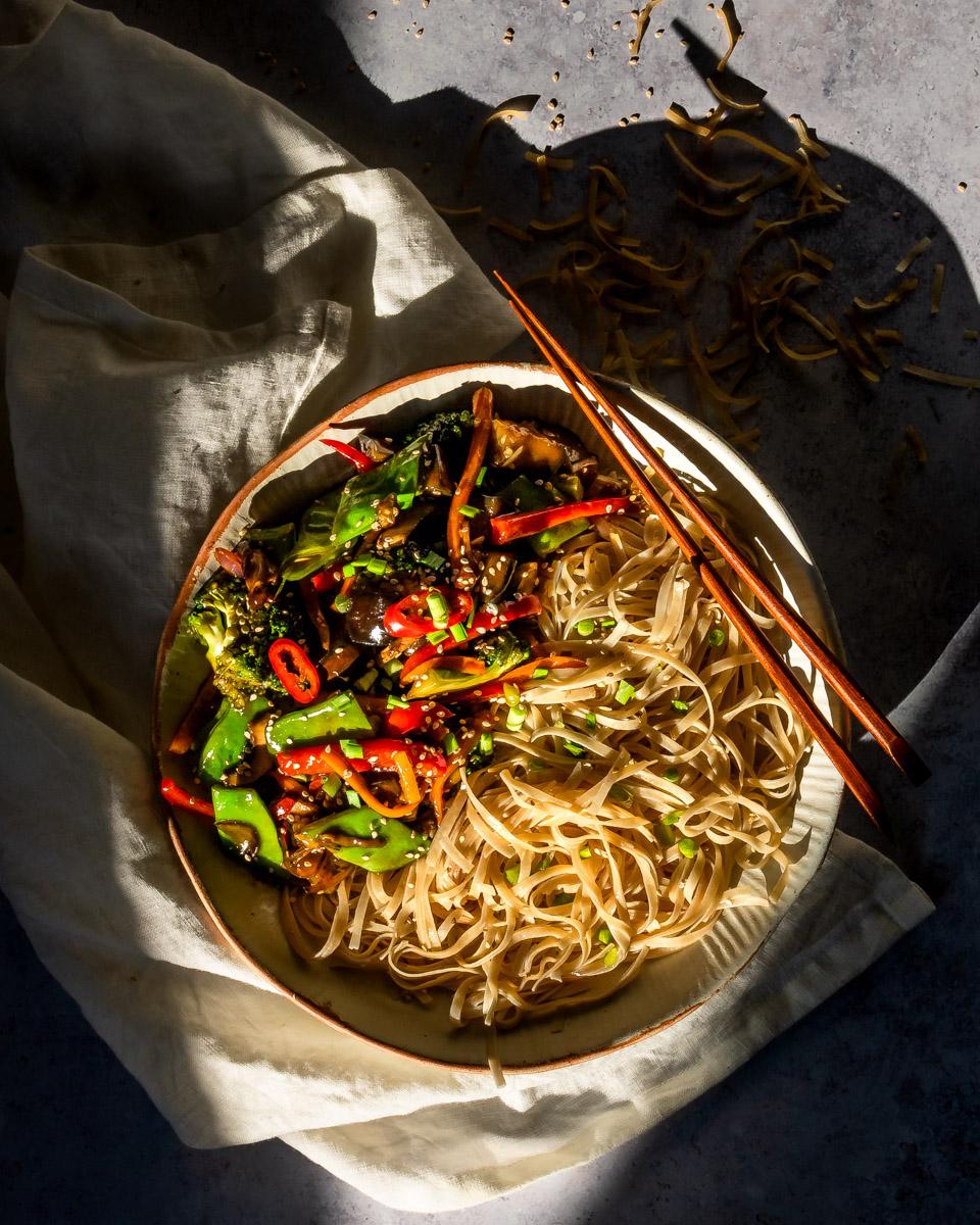 Vegetable Teriyaki Stir-Fry