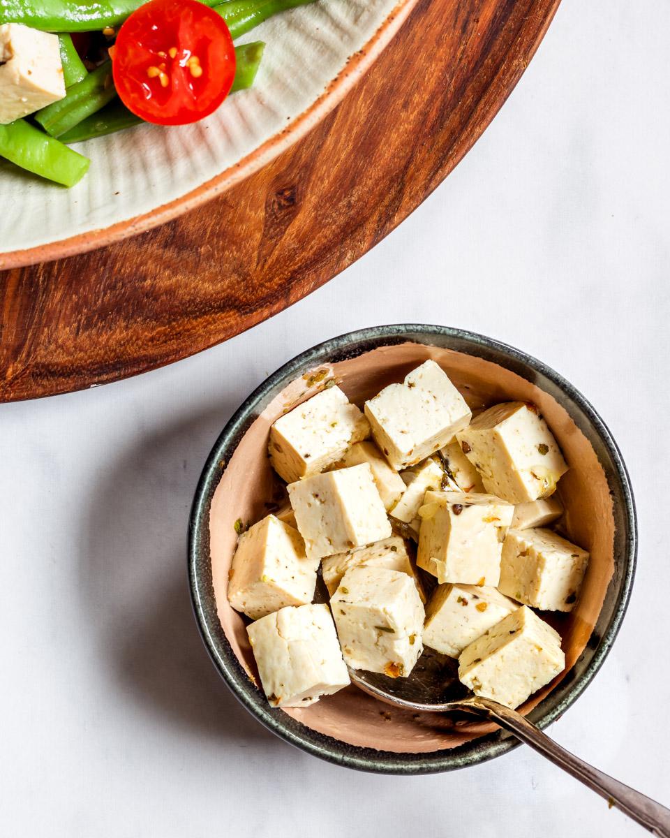 Feta Salad green beans