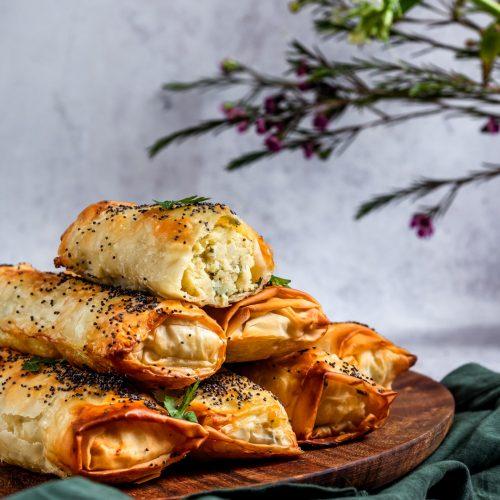 Börek - spinach or potato