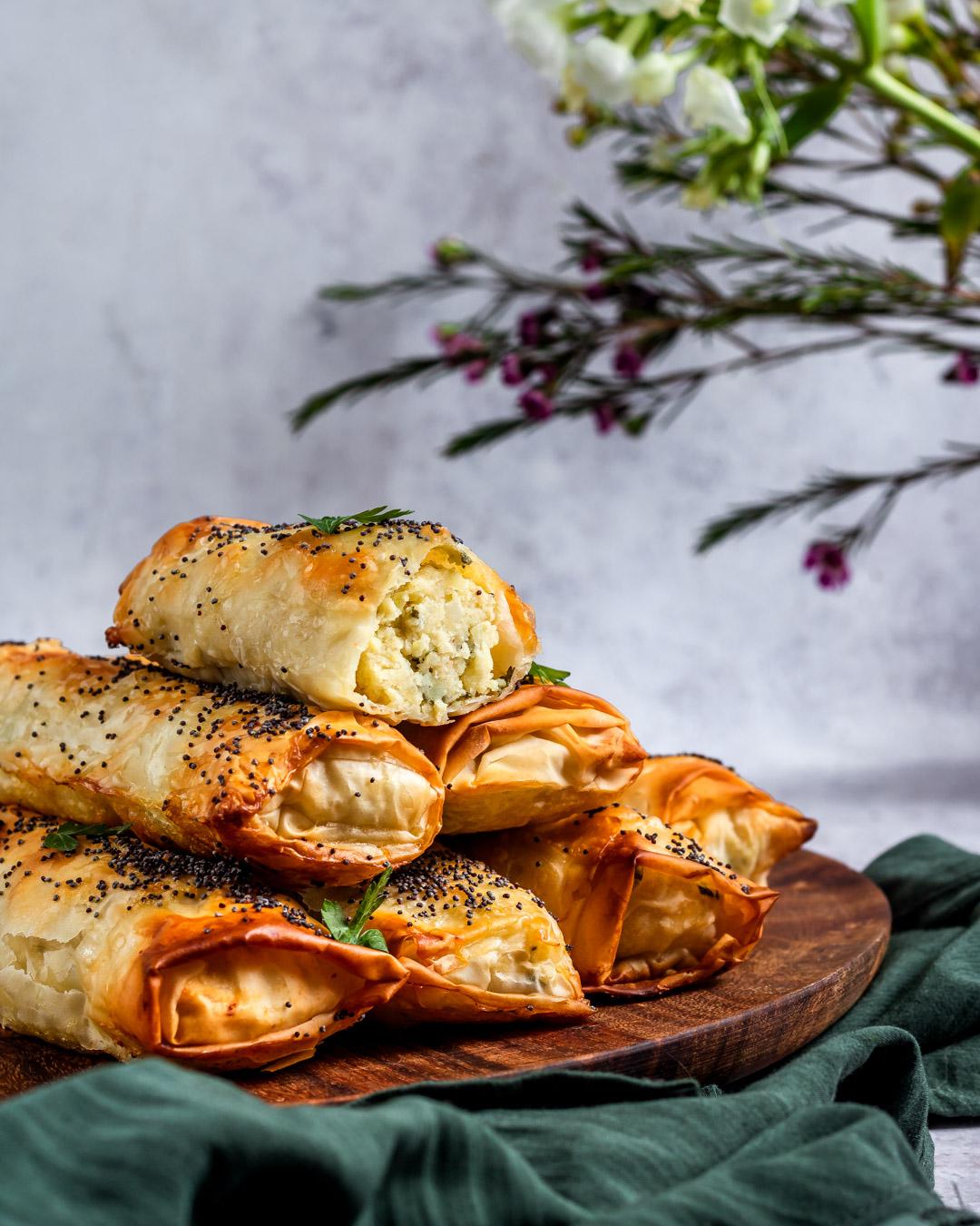 Turkish Vegan Börek