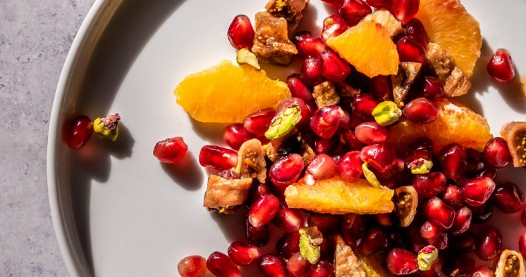 Pomegranate & Orange Blossom Salad