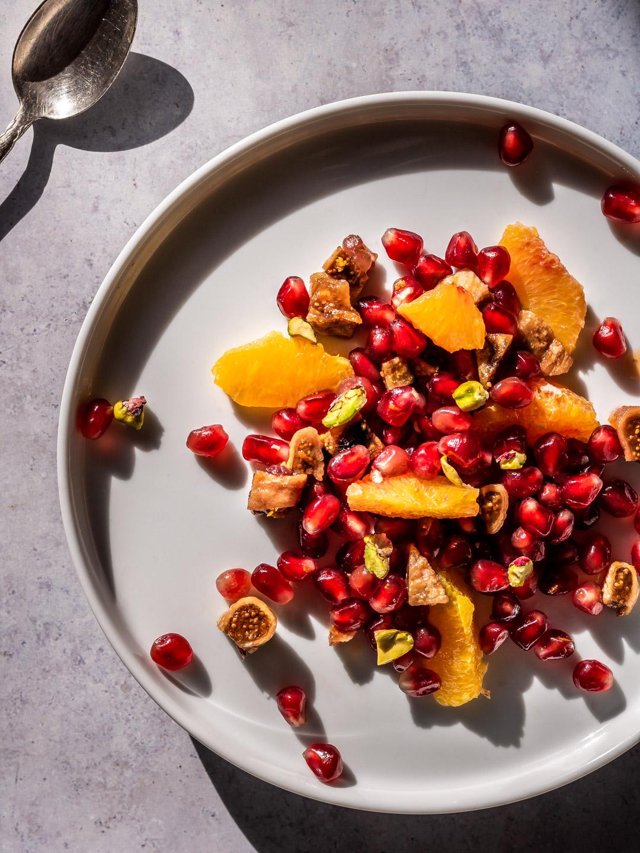Pomegranate & Orange Blossom Salad
