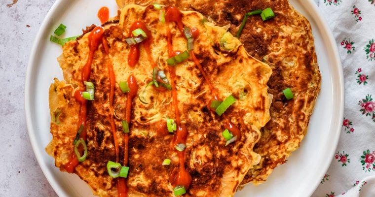 Easy Kimchi Pancakes