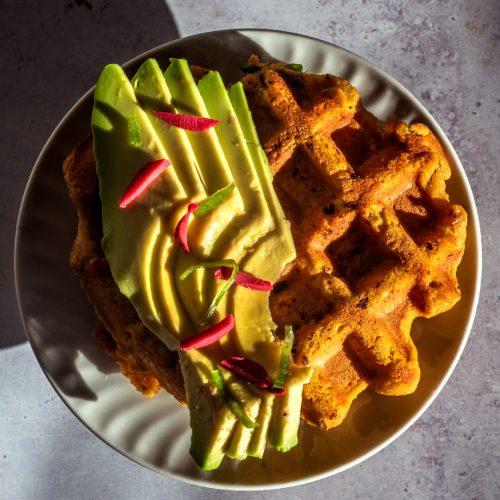 Quick waffles