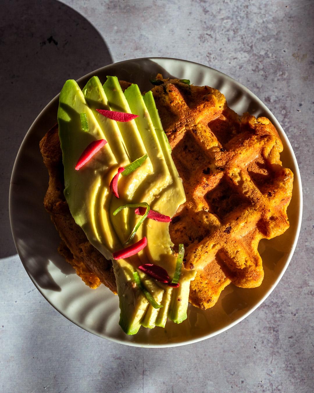 Savory Sweet Potato Waffles (Gluten-free – Quick)