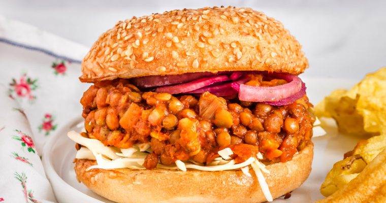 Healthy Lentil Sloppy Joes