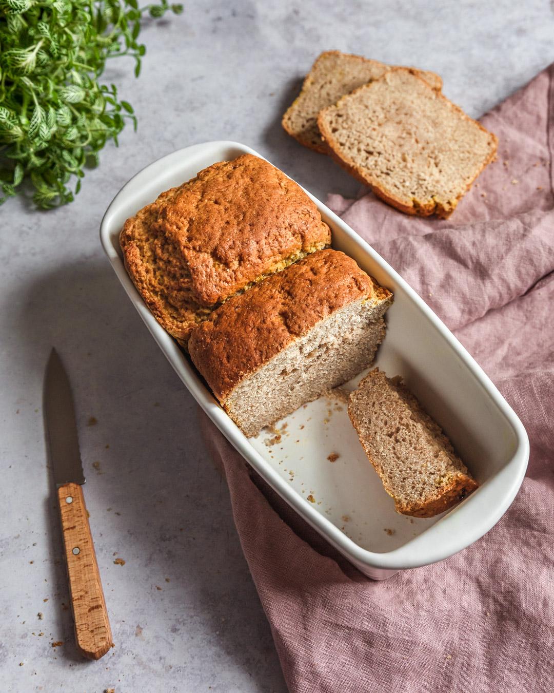 Aquafaba Brioche Bread