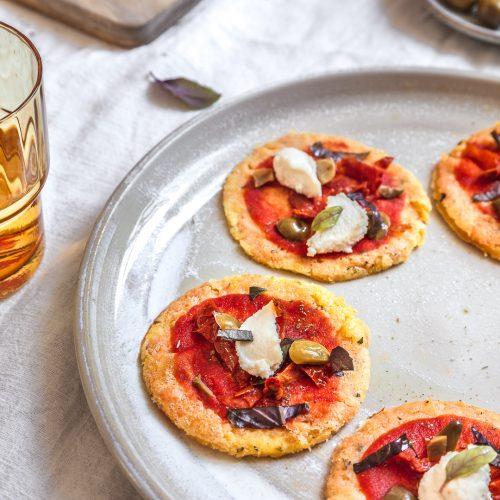 socca pizza aperitif