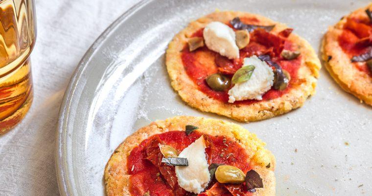 Socca Pizzette